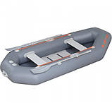 Надувная лодка Kolibri К-280 СТ гребная двухместная, со слань-ковриком, фото 6