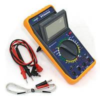 Цифровой мультиметр (тестер) DT9208A, вольтметр, амперметр, омметр