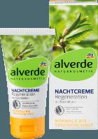 Alverde ночной крем для сухой и нормальной кожи Nachtcreme Bachblüten, 50 мл