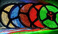 Лента светодиодная (LED подсветка, белая) 5м, 300 диодов, лучшее украшение!