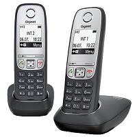 Радиотелефон DECT Gigaset A415 DUO Black, L36852H2505S301