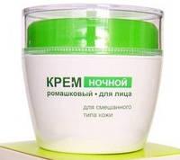 Белита Ночной Крем для лица для смешанного типа кожи Ромашковая восстановление и питание RBA /25-55