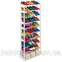 Полка для обуви Amazing Shoe Rack на 30 пар