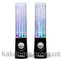 Колонки танцующие фонтаны USB water dancing speakers
