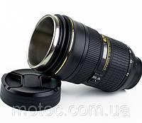 Термо-Чашка в виде объектива, кружка объектив, автомобильная кружка объектив купить в Украине