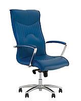 Кресло руководителя FELICIA steel chrome MPD AL68 с механизмом «Мультиблок» (Nowy Styl)