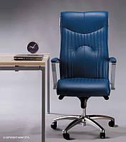 Кресло руководителя FELICIA steel chrome MPD CHR68 с механизмом «Мультиблок» (Nowy Styl)