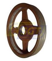 Большой шкив ременной передачи (3-ручейный) для роторной косилки 1.35