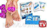 Профессиональный набор для педикюра Ped Egg + Ped Shaper (18 предметов)