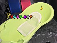 Горка для купания ребенка белая