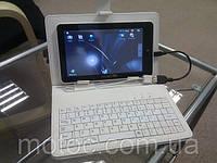 Чехол-клавиатура для планшетного белый ПК(планшетника) 8 дюймов