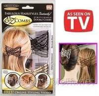 Чудо заколка для волос Изи Коум (Изи Хоум, Easy Comb, EZ Combs)