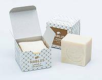 Органическое оливковое мыло ручной работы Nablus Pure, 120g. (коробочка), Палестина, фото 1