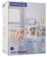 Sweet Impression набор для воды -7 пр. Luminarc L2218