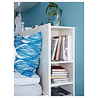 Каркас кровати IKEA BRIMNES 160x200 см с изголовьем белый 590.991.55, фото 4
