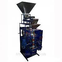 Фасовочно упаковочный автомат механический с одним весовым дозатором