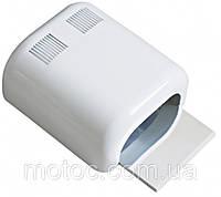 УФ лампа Global fashion SM-702 36 Вт с принтом. Лампа для наращивания ногтей глянцевая 4 лампы