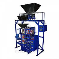 Фасовочно упаковочный автомат механический с двумя весовыми дозатороми, Б/У