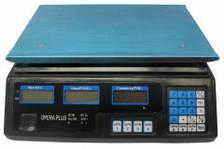 Весы торговые ( точные ) Opera 40 кг. На аккумуляторе