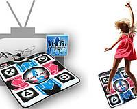 Танцевальны коврик приставка для телевизора и компьютера Extreme Dance Mat с CD