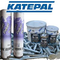 Комплектующие битумной черепицы Katepal