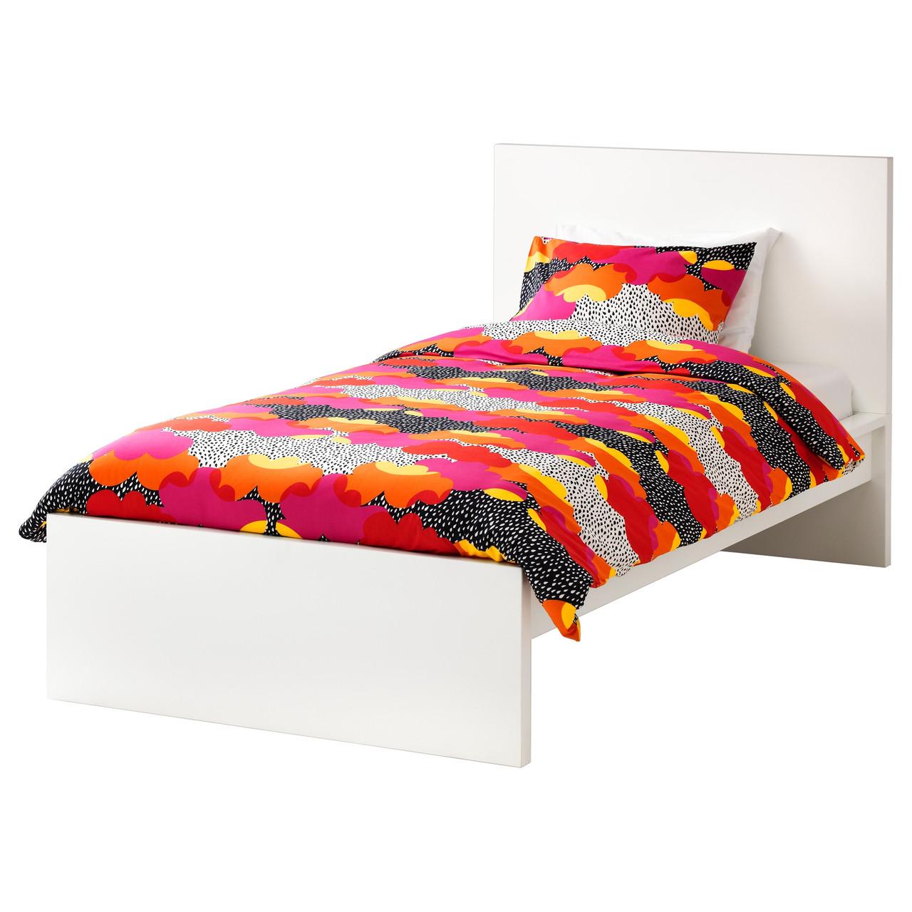 MALM Каркас кровати, высокий, белый, Luröy 190.095.62