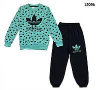 Теплый костюм Adidas для девочки. 5, 6, 7 лет, фото 1