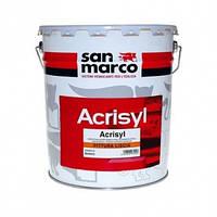 Акрил-силоксановая краска Acrisyl Pittura Liscia