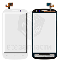 Сенсор,тачскрин Alcatel One Touch 5036 POP C5 Dual SIM, белый