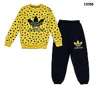 Теплый костюм Adidas для девочки.  6, 7 лет, фото 1