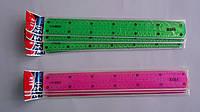 """Линейка """"Неломайка"""" 30см,ширина 4см,2 шкалы измирения,Flex двухсторонняя,прозрачная для черчения.Лінійка Нелом"""