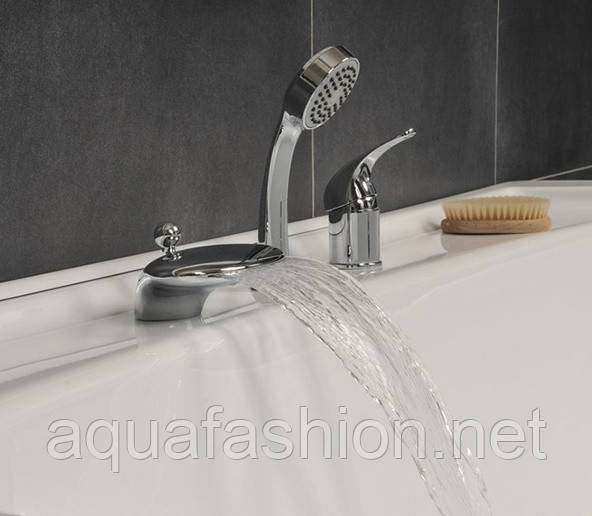 Купить смеситель в ванную водопад купить фото отделка маленьких ванных комнат