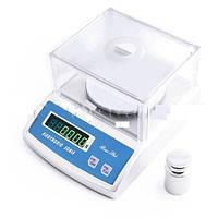 Лабораторные весы высокоточные 6002-600A до 600 грамм с дискретностью 0,01 грамм