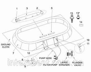 Intex 28194 (54934) - каркасный бассейн Easy Set 610x366 см, фото 2