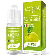 Жидкость для электронных сигарет LIQUA APPLE Зеленое яблоко 10ml Без никотина SKU0000485