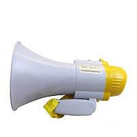Ручной мегафон рупор RD-8S (HQ-108) громкоговоритель