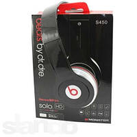 Наушники  Monster Beats Dr.Dre SOLO S450 (MP3) (Copy Original)