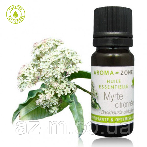 Мирт лимонный (Backhousia citriodora) эфирное масло, 10 мл