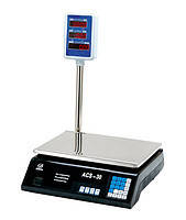 Весы торговые со стойкой VITEK до 40 кг электронные