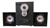 Акустическая система AU-3008 (220V+USB+FM+карта памяти)
