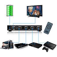 Коммутатор HDMI 1in 4 out KH-104 свитч HDMI