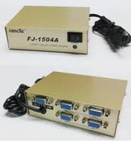 Коммутатор VGA (4 port 250MHZ) KV-FJ1504A