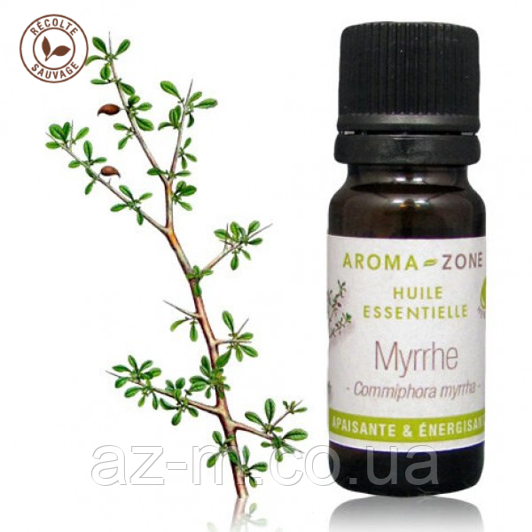 Мирра (Commiphora myrrha) эфирное масло