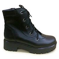 Ботинки зимние,платформа, шнуровка, 36-41, фото 1