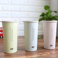 Чашка из биоразлагаемого пластика (3 оттенка)