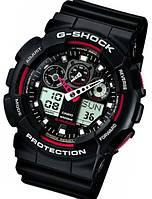 Часы в стиле Casio GA-100, механические часы