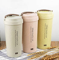Чашка из биоразлагаемого пластика (Крышка с ручкой)