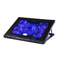 Охлаждающая подставка под ноутбук Fans Notebook Cooling Pad Cooler M8 Laptop