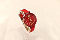 Женские часы Geneva Platinum (копия) Красные, в Одессе