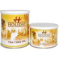 Воск Holiday банка с маслом чайного дерева (чувст.кожа) 800мл.